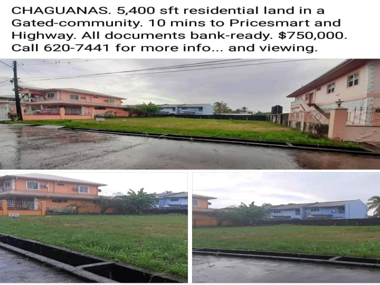 Chaguanas, ,Land,For Sale,1157