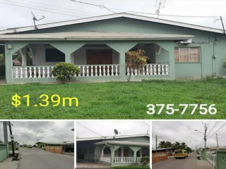 Chaguanas, ,House,For Sale,1074