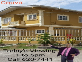 Couva, ,House,For Sale,1076